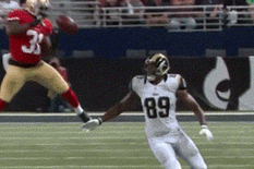 Donte Whitner Dropped an Interception, and Jared Cook Caught It