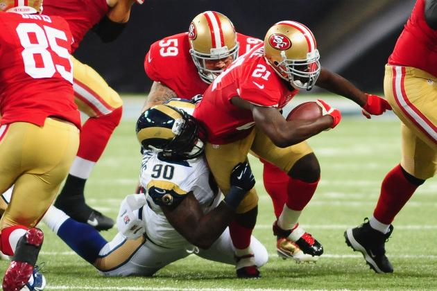 Frank Gore's Updated 2013 Fantasy Outlook After Week 4