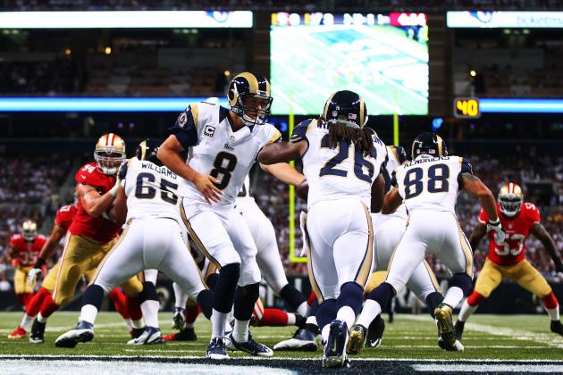 49ers and Rams: Live Game Grades and Analysis for St. Louis