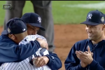 Watch: Jeter, Pettitte Relieve Rivera in Heartfelt Sendoff