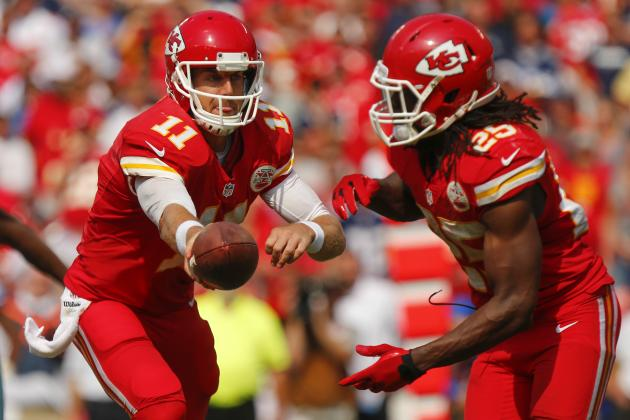 Breaking Down the Staples of the Kansas City Chiefs' Running Attack
