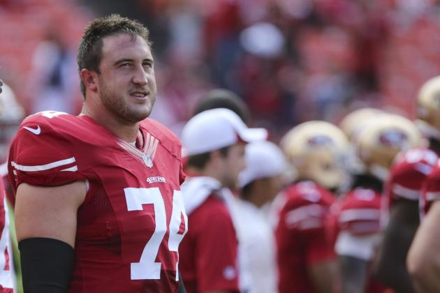 Joe Staley Injury: Updates on 49ers OT'S Leg, Likely Return Date