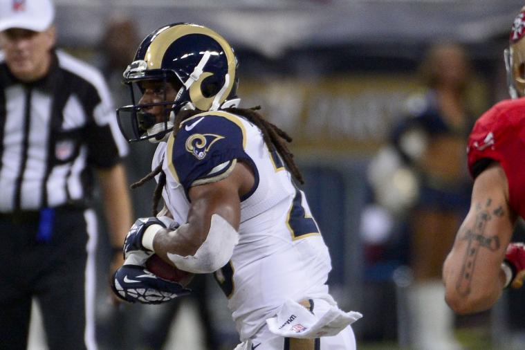 Rams' Rushing Offense Horrible Again