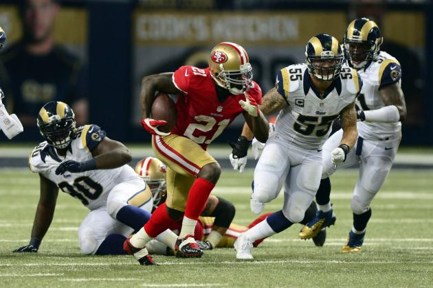 Rams Run Defense Falters Again in Loss to 49ers