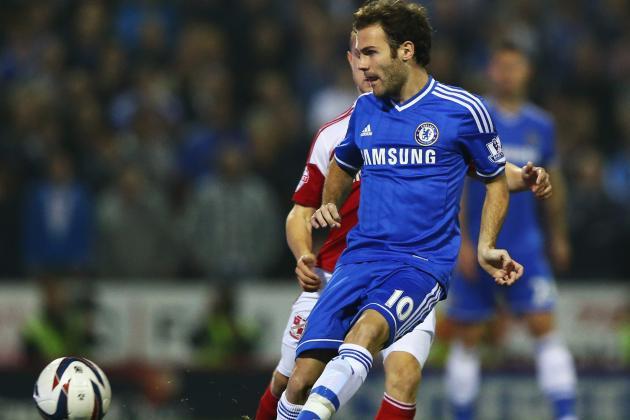 Andre Villas-Boas Hails 'Special' Juan Mata as Tottenham Consider Transfer