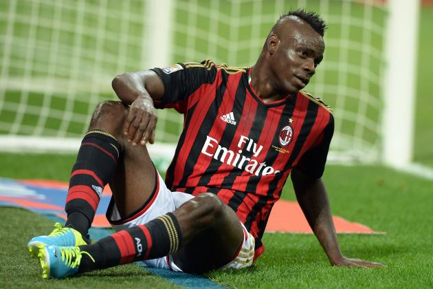 Mario Balotelli Says Sorry for Red Card in AC Milan vs. Napoli in Third Person