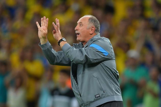 Luiz Felipe Scolari Ponders Brazil's Striker Options Before 2014 World Cup