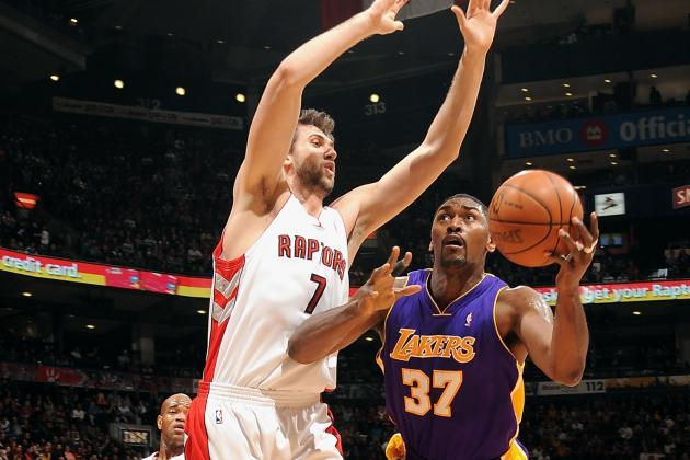 Should Andrea Bargnani or Metta World Peace Start for NY Knicks in 2013-14?