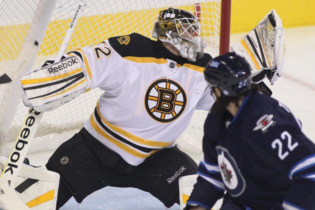 Niklas Svedberg Pushing for Boston Bruins' Backup Role