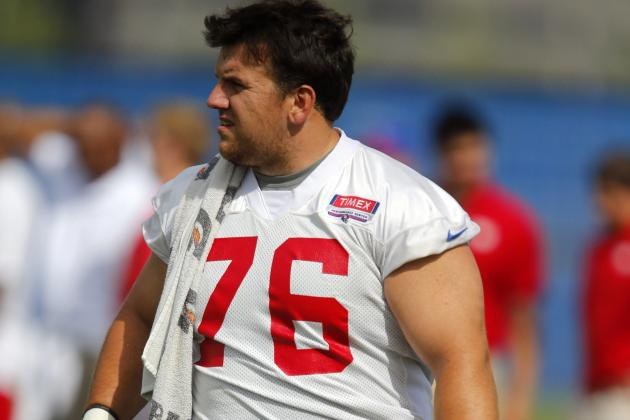 Giants Prepare for Daunting Defense with Rotating Cast of Offensive Linemen