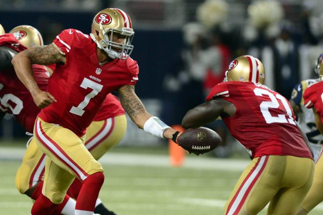 Kaepernick Knows the Niners Have to Get Gore the Ball