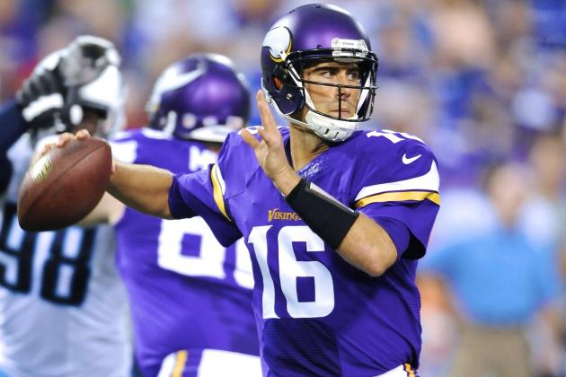 Matt Cassel's Full Fantasy Scouting Report Following Christian Ponder's Injury