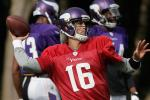 Vikings Announce Cassel Will Start for Injured Ponder