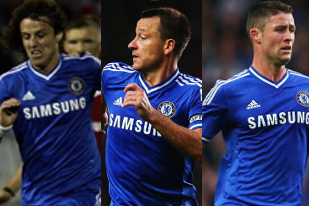 Analyzing Chelsea's Central Defenders: Luiz vs. Terry vs. Cahill