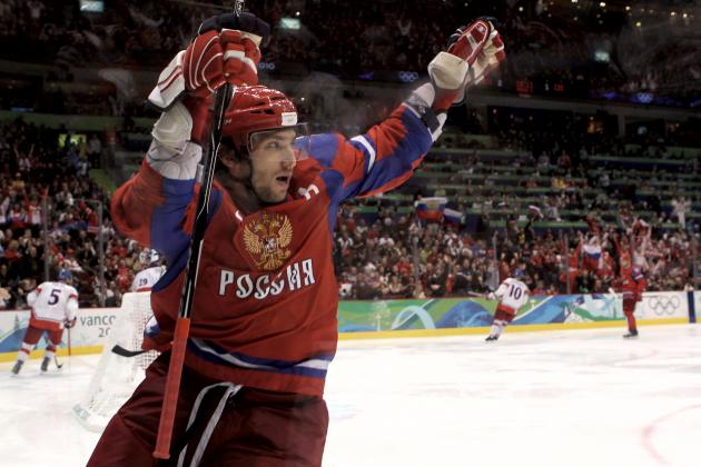 Alexander Ovechkin Named First Torchbearer for 2014 Sochi Winter Olympics