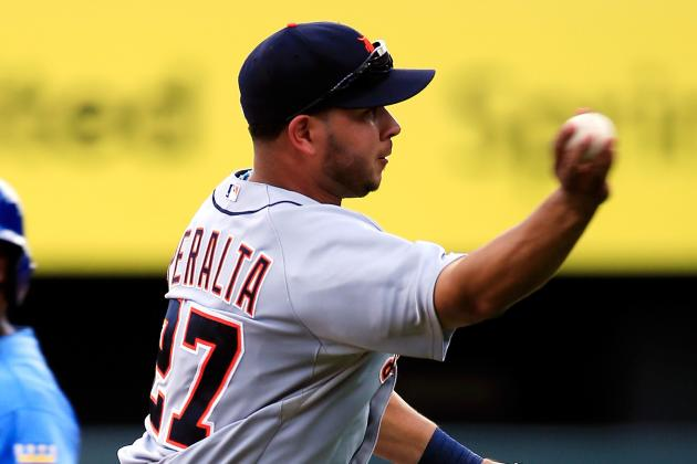Peralta Expects to Play LF When He Rejoins Tigers