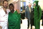 Puig Hazed in Gumby Suit