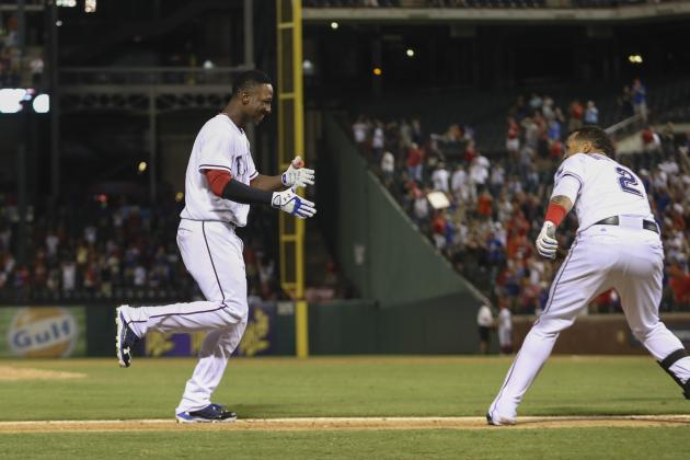 Watch: Garza Goes Nuts After Profar's Walk-off HR