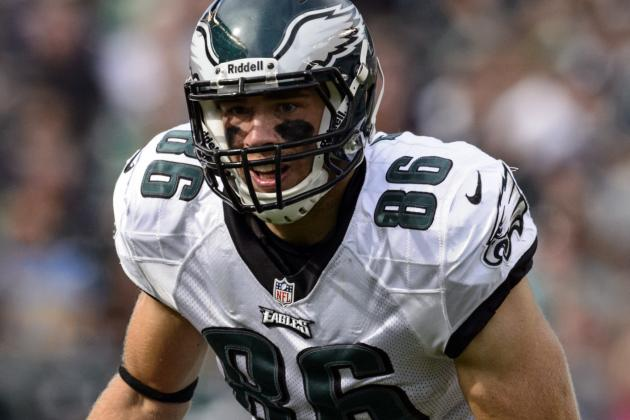Eagles Rookie Ertz Itching to Get His Chance
