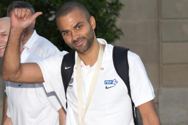 Tony Parker Doesn't See Retirement in the Near Future