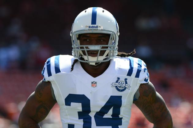 Trent Richardson's Updated Week 4 Fantasy Outlook After Ahmad Bradshaw's Injury