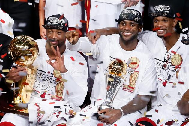NBA Teams That Could Break Up Miami Heat Big Three in 2014 Free Agency
