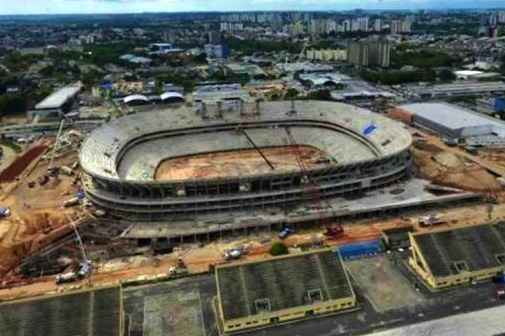 Brazil May Turn Its Amazon Stadium into a Prison After 2014 World Cup