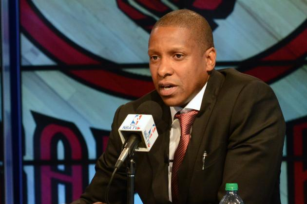 Masai Ujiri Shrugs Off Pressure of Rebuilding Franchise