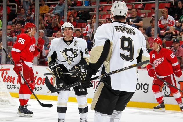 Sidney Crosby, Penguins Wingers a Good Mesh