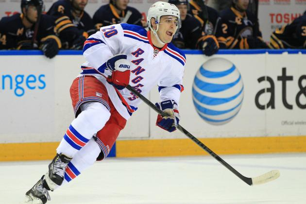 Rangers' Kreider May Be Odd Man Out