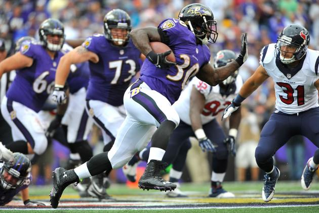With Passing Game Struggling, Ravens Will Lean on Rushing Attack vs. Bills