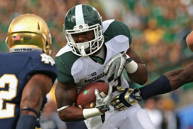 RB Langford Played Through Quad Contusion vs. ND
