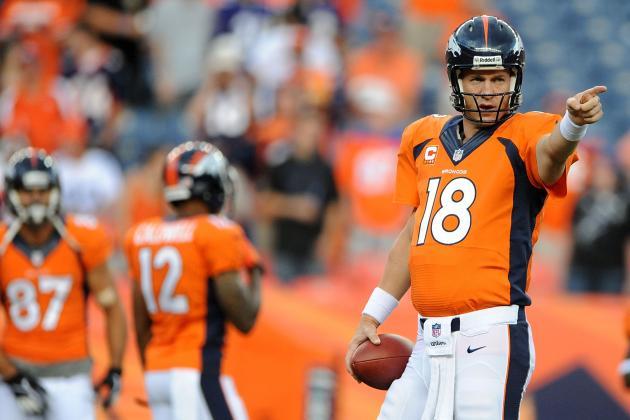 Peyton Manning and Denver Broncos Will Finish 2013 Unbeaten