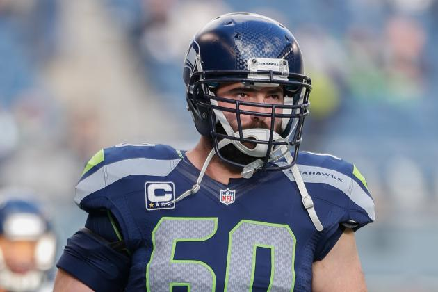 Max Unger, Breno Giacomini Doubtul to Play Against Houston