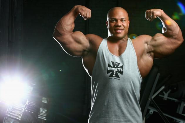 Phil Heath Faces Toughest Test at 2013 Mr. Olympia Competition