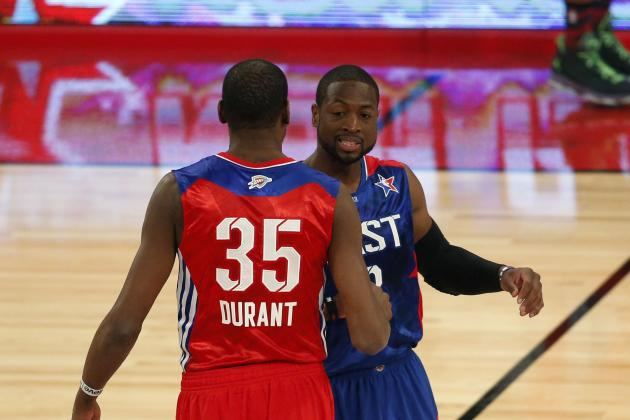 Kevin Durant and Dwyane Wade Feud Hopefully Coming to an End