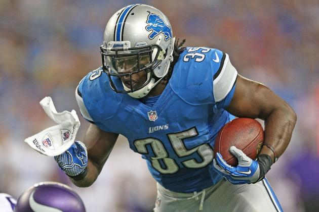 Joique Bell Still Strong Fantasy Option with Reggie Bush's Return
