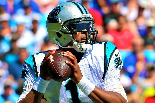 Cam Newton Fined $10,000 by NFL for Wearing Unauthorized Visor Clips