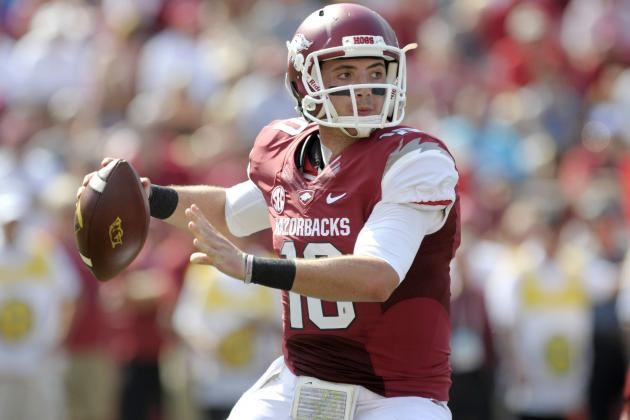 Brandon Allen's Return Will Make Arkansas More Competitive vs. Texas A&M