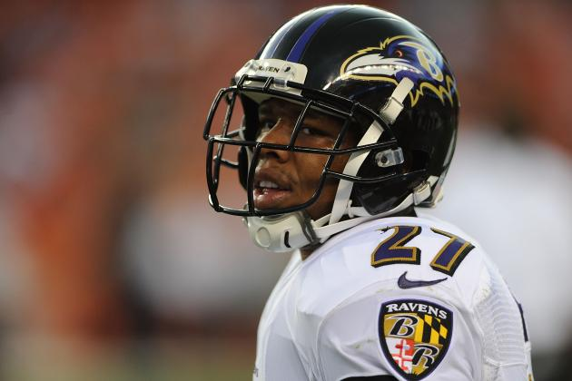 Ray Rice Too Risky to Play in Fantasy with Questionable Status