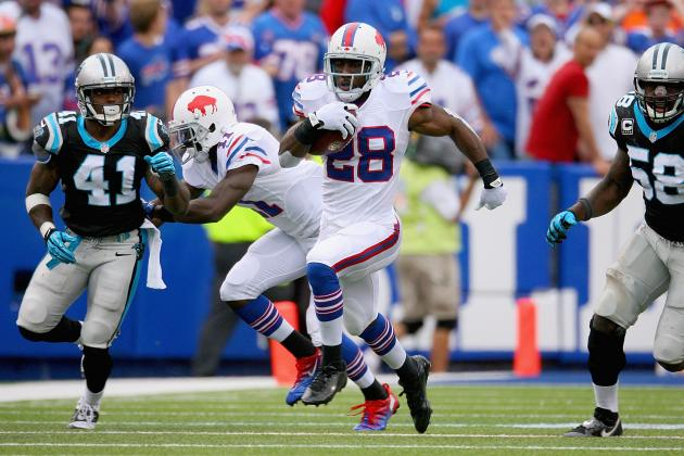 CJ Spiller Should Be Starting for Fantasy Owners with Probable Status