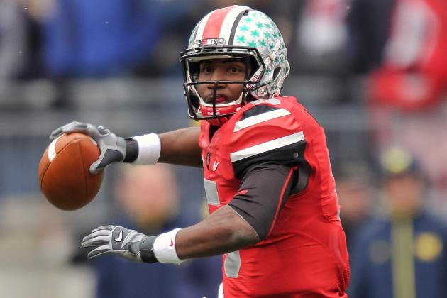Braxton Miller Must Shine as Passer to Keep Kenny Guiton on the Bench