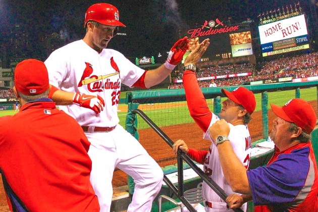 Cardinals Clinch National League Central with 7-0 Victory over Cubs
