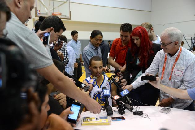 Golden State Warriors Media Day 2013: Photos, Interviews and Takeaways