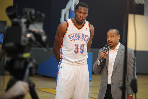 OKC Thunder Media Day 2013: Photos, Interviews and Takeaways