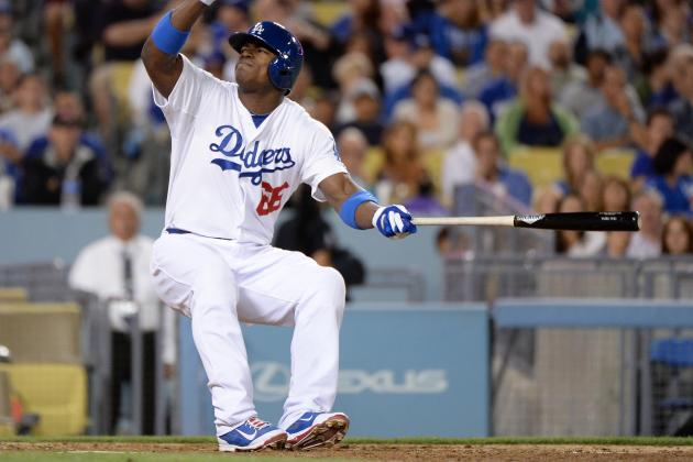 Yasiel Puig Injury: Updates on Dodgers Star's Foot, Likely Return Date
