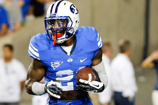 BYU to play Middle Tennessee without Jamaal Williams