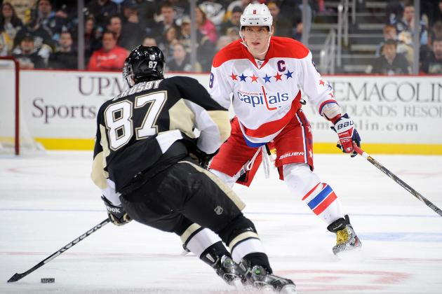 Who's the Better Bet for 2013-14 Hart Trophy: Sidney Crosby or Alex Ovechkin?