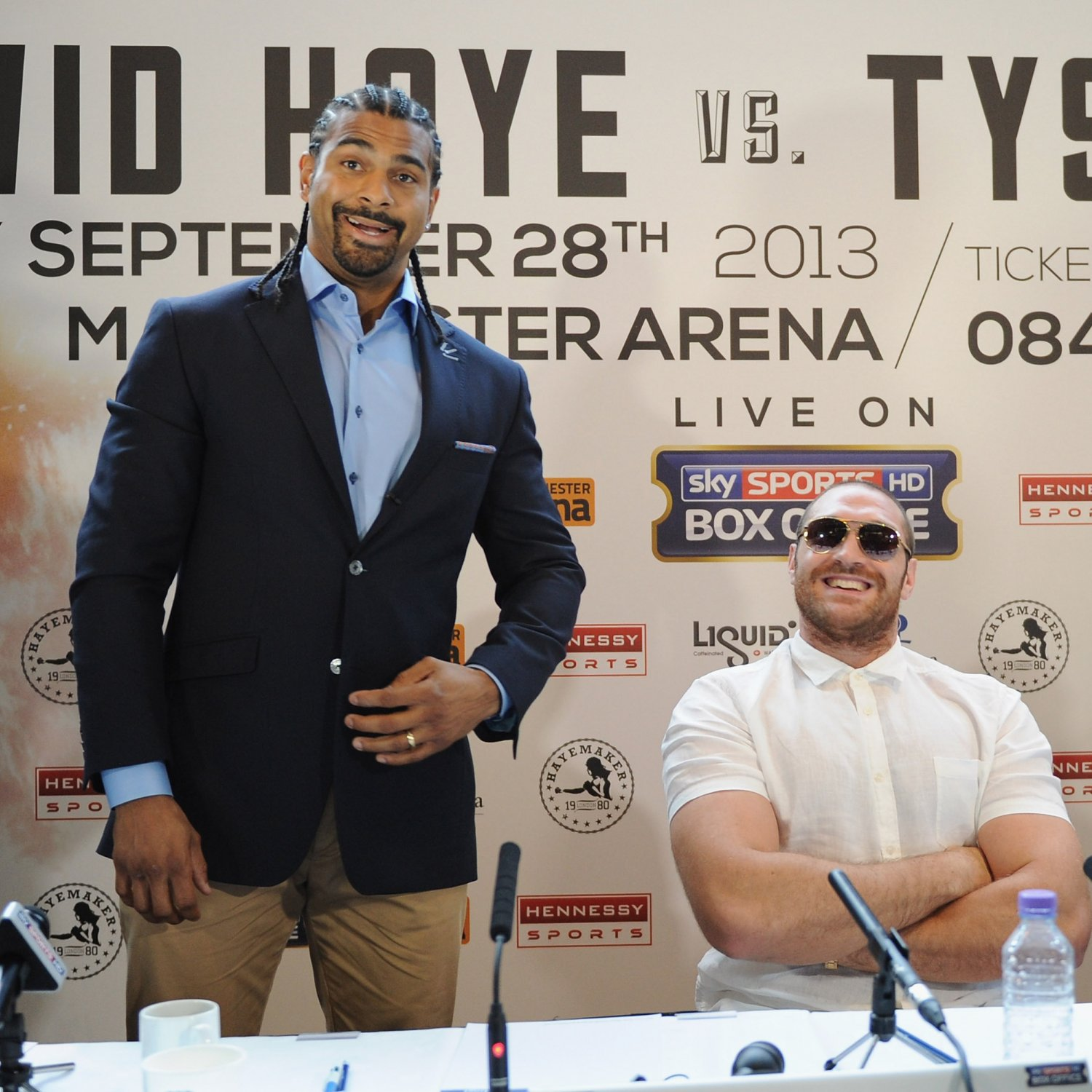 David Haye Vs. Tyson Fury: Best Quotes From Each Fighter