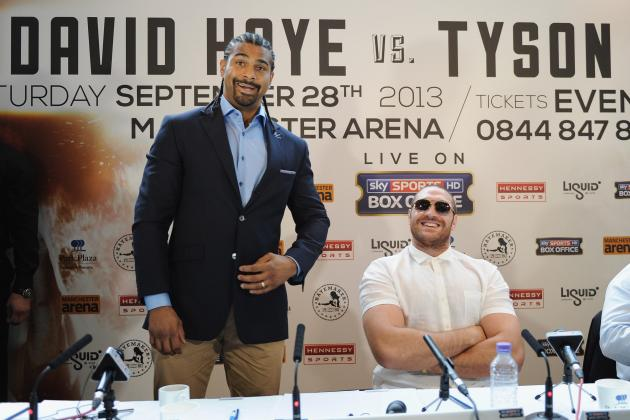 David Haye vs. Tyson Fury: Best Quotes from Each Fighter in Heated Rivalry
